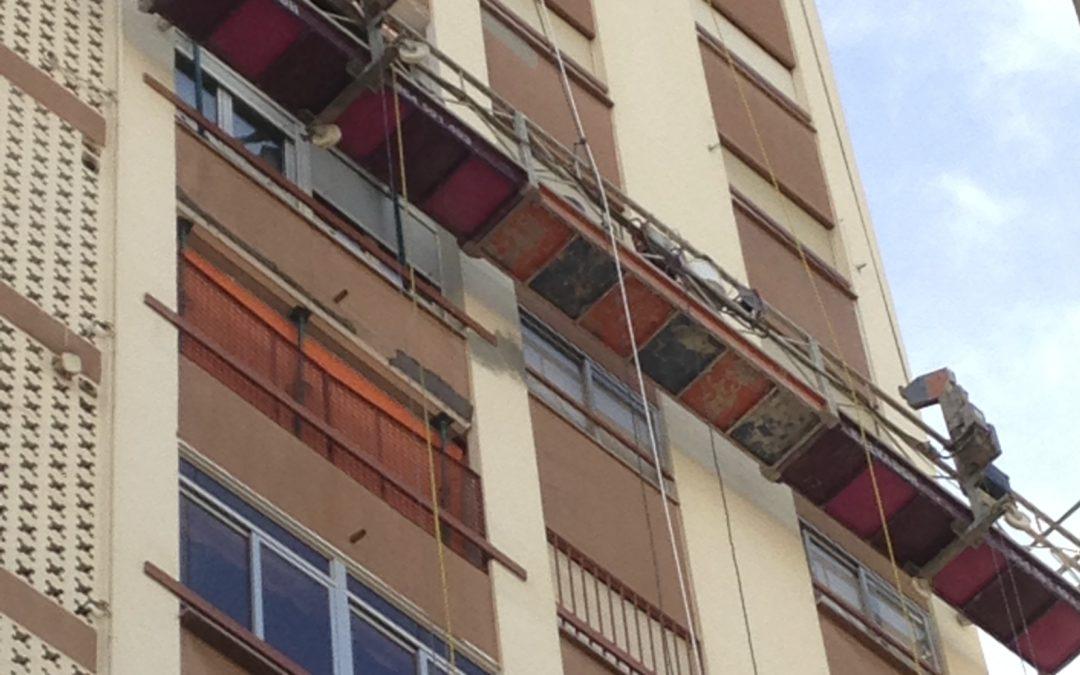 Rehabilitación Fachada Edificio La Hispano