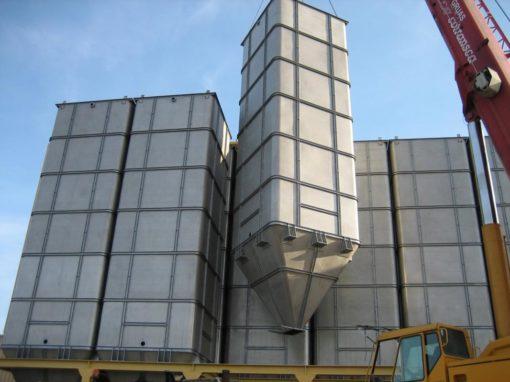 Pintado interior de silos alto rendimiento